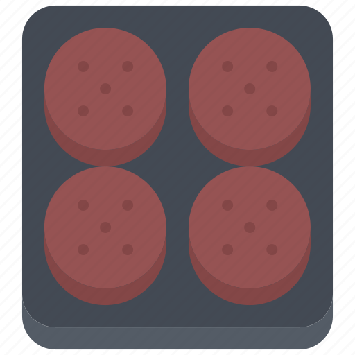 burger, butcher, cutlet, food, meat, shop icon