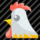 animal, chicken, farm, hen, meat, turkey, wildlife