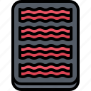 bacon, butcher, food, meat, shop icon