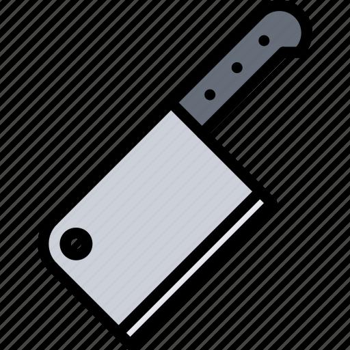 Butcher, food, knife, meat, shop icon - Download on Iconfinder
