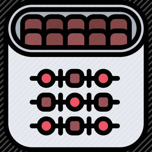 butcher, food, kebab, meat, shish, shop icon