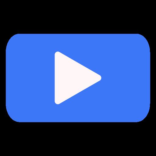Button, audio, control, multimedia, music, video icon - Free download