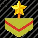 achievement, award, badge, medal, reward, ribbon, winner