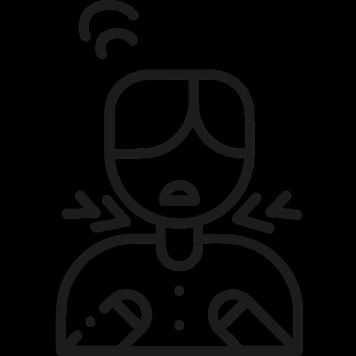 Breathing difficulty, corona, coronavirus, covid, covid19, short of breath icon - Free download