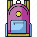 backpack, bag, education, school, student