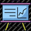 chart, class, education, graph, presentation, school, university