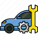 auto, automotive, engine, hobby, repair, vehicle icon