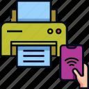 iot, office, printer, printing, smart printer, technology, wireless printing