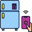 fridge, iot, refrigerator, smart, smart fridge, smart home, technology