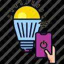 bulb, iot, light, smart home, smart lamp, smart light, technology