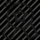 badge, best seller, favorite, rating, star icon
