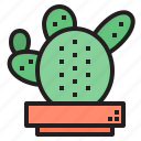 cacti, cactus, flower, plant, tree icon