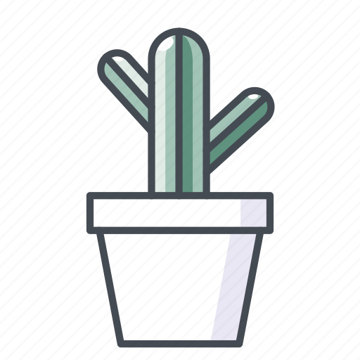 cactus, plant, potted plant, prickly, vegetal icon