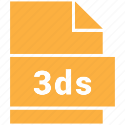 3ds, file format icon