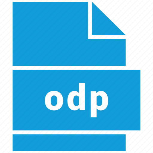 file format, odp icon