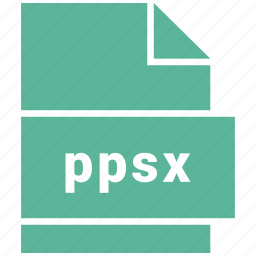 file format, ppsx icon