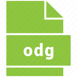 file format, odg icon