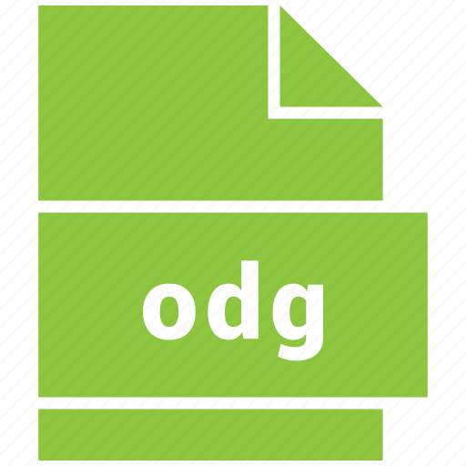file format, odg icon
