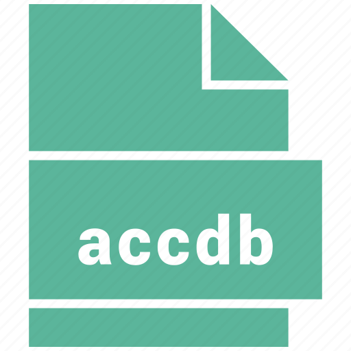 accdb, file, format icon