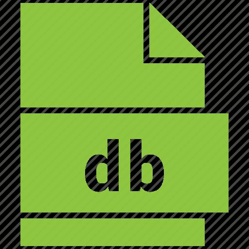 database file (db), db icon