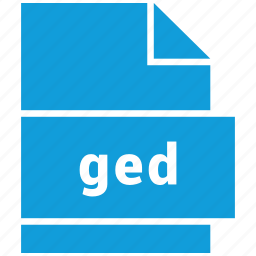 file format, ged icon