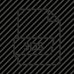 ds, ds file, ds icon, file 3d, icon 3d, image file, studio scene icon