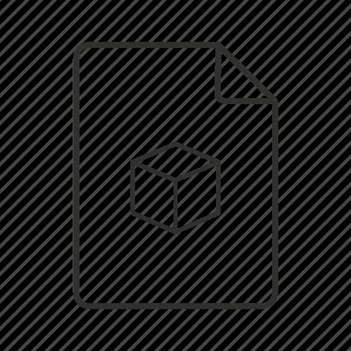 ds, ds file, file 3d, icon 3d, image file, studio scene icon