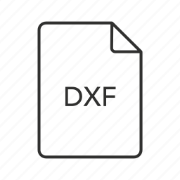 drawing, drawing exchange format, drawing exchange format file, drawing file, dxf, dxf file, dxf icon icon
