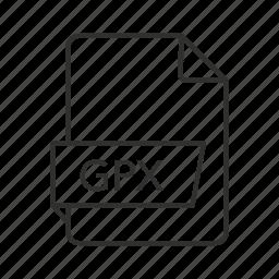 gis file, gis icon, gps, gps exchange file, gps icon, gpx, gpx icon icon