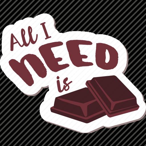 café, chocolate, drink, food, networking, restaurant, sticker icon