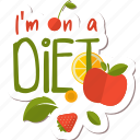 café, diet, food, fruit, healthy, networking, restaurant icon