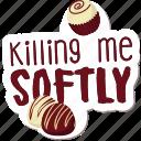 café, cake, candy, food, networking, restaurant, sticker