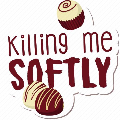 café, cake, candy, food, networking, restaurant, sticker icon
