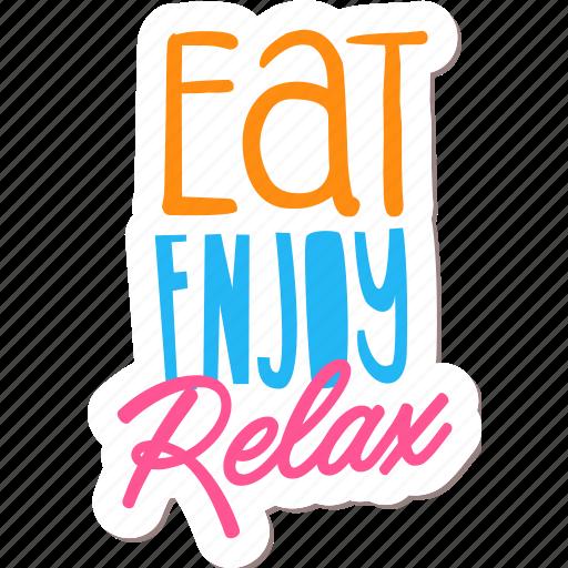café, drink, food, networking, restaurant, sticker icon