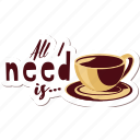 café, coffee, drink, food, networking, restaurant, sticker icon