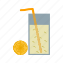 bar, cafe, cocktail, drink, glass, juice, lemon icon
