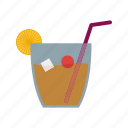 alcohol, bar, bottle, cafe, drink, glass, whiskey icon