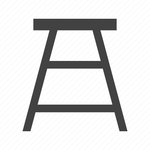 bar, cafe, chair, furniture, round, sit, stool icon