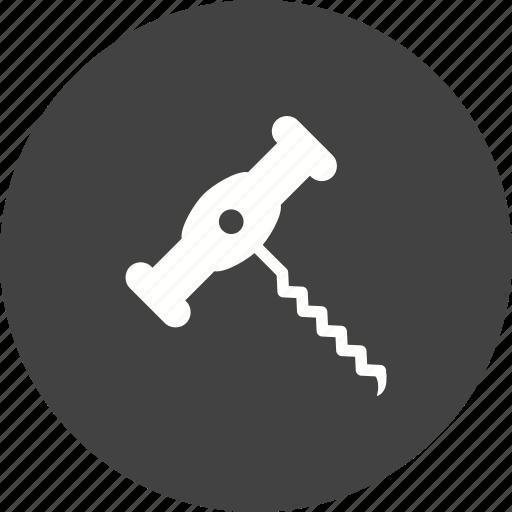 Bar, bottle, cafe, corkscrew, drink, table, wine icon - Download on Iconfinder