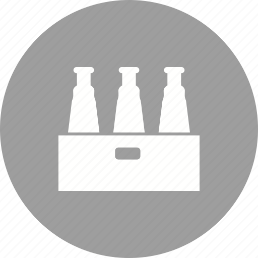 alcohol, bar, beers, box, cafe, drink, pack icon