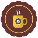 cafe, coffee, cup, drink, label