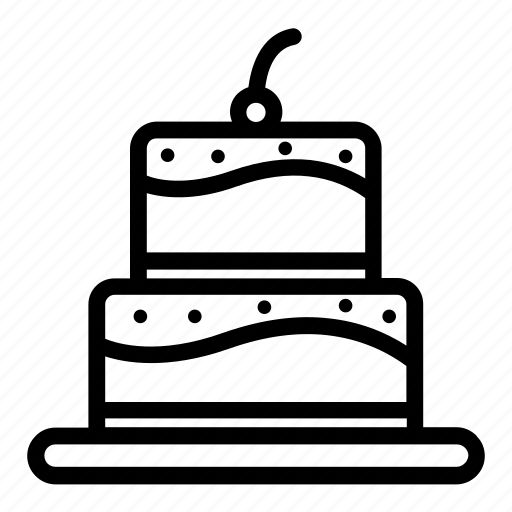 bakery, birthday, bread, cake, cupcake, dessert, pastry icon