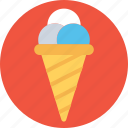 frozen food, gelato, ice cone, ice cream, sundae icon