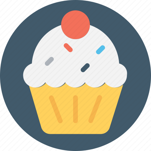 frozen food, gelato, ice cream, ice cream cup, sundae icon