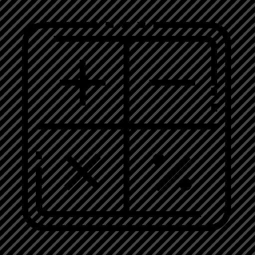 Calculation, computation, math operation, mathematics icon - Download on Iconfinder