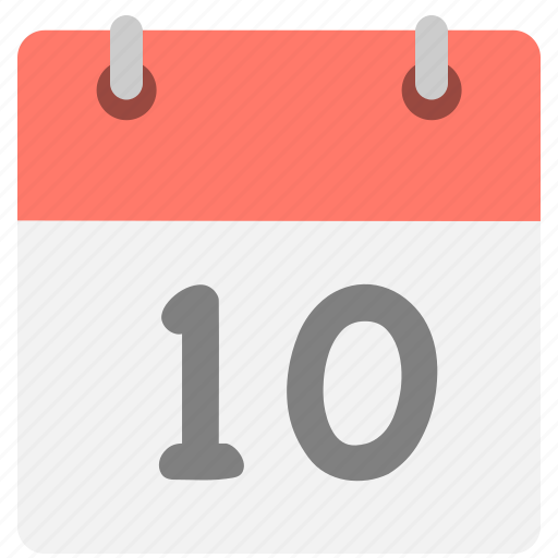 calendar, event, hovytech, one, schedule, tenth, zero icon