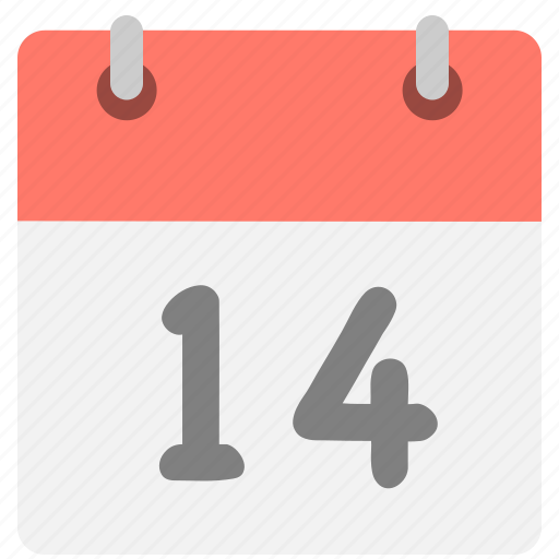 calendar, event, four, fourteen, hovytech, one, schedule icon