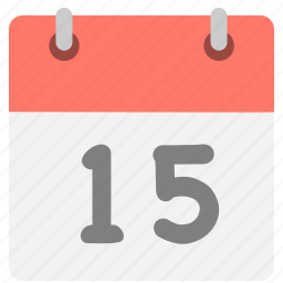 calendar, event, fifth teen, five, hovytech, one, schedule icon