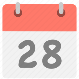 calendar, eight, event, hovytech, schedule, twenty-eight, two icon