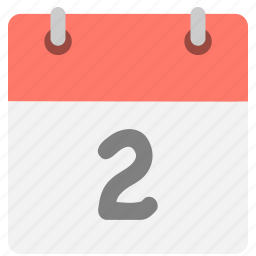 calendar, event, hovytech, schedule, second, time, two icon